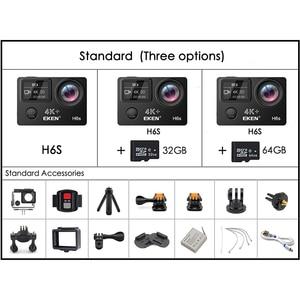 Image 5 - Original EKEN H6S Ultra HD Action Camera with Ambarella A12 chip 4k/30fps 1080p/60fps EIS 30M Waterproof Sport Camera
