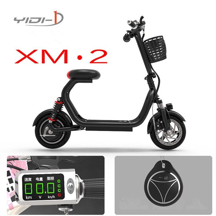 2 roues pliant lithium électrique scooter adulte torsion voiture vélo 10 pouces vélo ville scooter électrique