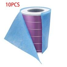 Kimberly 10 шт. электростатический хлопок очиститель воздуха фильтр для Xiaomi Mi воздушный фильтр Универсальный hepa фильтр против пыли PM2.5