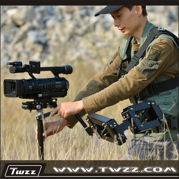 Handheld/Vest Type Dual Purpose Stabilizer Steadycam System DSLR Stabilizer Professiona Kit For Film TV Video and Movie hubatka audio sweetening for film and tv