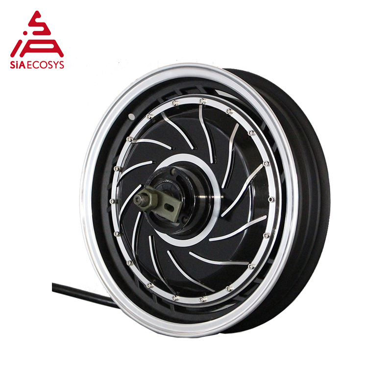 QS MOTOR 14inch 8kW 273 50H V3 Brushless DC Electric Scooter Motorcycle Hub Motor