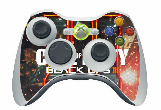 9 Styles Call of Duty Design Vinyl Decal Skin Sticker Cover For Microsoft XBOX 360 Gamepad Skin Sticker For Xbox 360 Controller