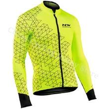 Новый Для мужчин NW спортивные очки для велоспорта, рубашки с коротким рукавом велосипед MTB рубашка горный велосипед Топы с длинными рукавами дышащая дорожный цикл одежда Костюмы A6