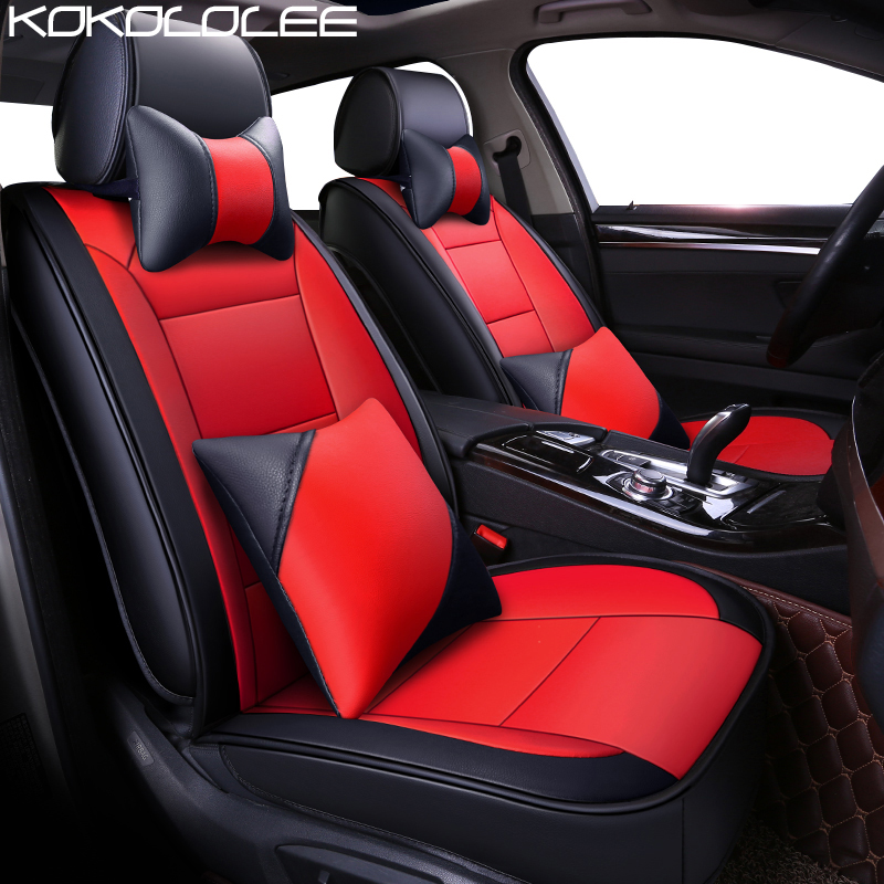 KOKOLOLEE Pu Leather Car Seat Cover For Acura All Models