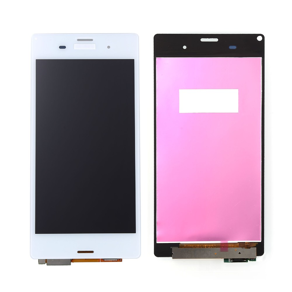 ФОТО Tested Good Work Black White  LCD For Sony Xperia Z3 LCD D6603 D6653 L55t LCD Display Touch Screen with Digitizer Assembly