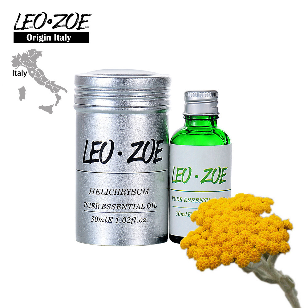 Well-Known Brand LEOZOE Helichrysum Essential Oil Certificate Of Origin Italy High Quality Helichrysum Oil 30ML image