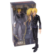 Anime One Piece MegaHouse Variable Action Heroes Sanji  PVC Action Figure Collectible Model Toy