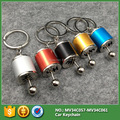 5 colors Zinc alloy racing Car Gear Shift hand handle Key Rings keyring keychain auto modification gear head type