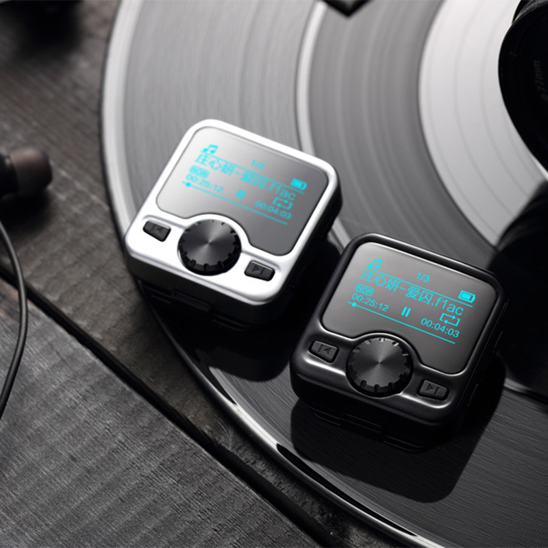 MP3 player supporting multiple music formats lossless sound quality MP3 player with ebook FM and Bluetooth
