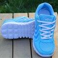 2017 Venta Caliente de Las Mujeres Zapatos Casuales de La Moda Transpirable zapatos de Lona de Deporte de Fitness Caminar Pisos Envío de la Alta Calidad P382