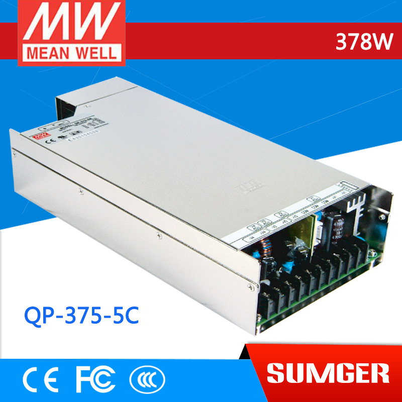 все цены на 3MEAN WELL original QP-375-5C meanwell QP-375-5 378W Quad Output with PFC Function Power Supply онлайн