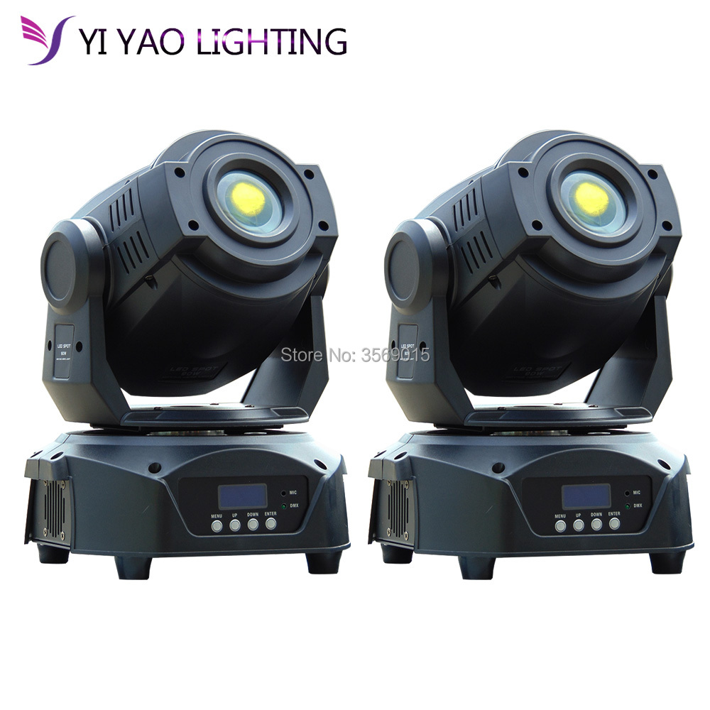 2pcs/Lot 90w 3 Facet Prism Moving Head Light 16 Channels Led Stage Gobo Pattern Lamp For Disco Ktv Club Party Wedding