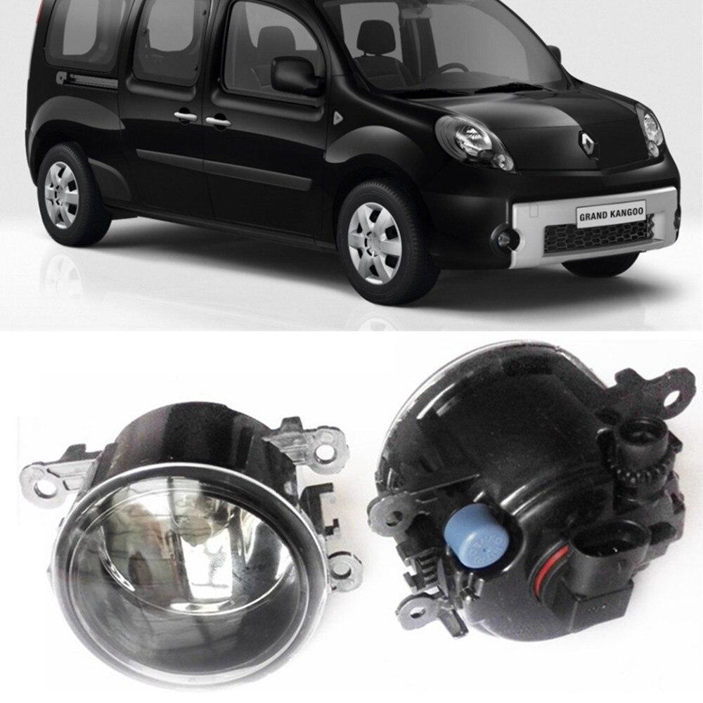 For Renault KangooGrand Kangoo KW0 KW1  MPV  2008-2015 Car styling Fog Lamps halogen Fog lights 1SET
