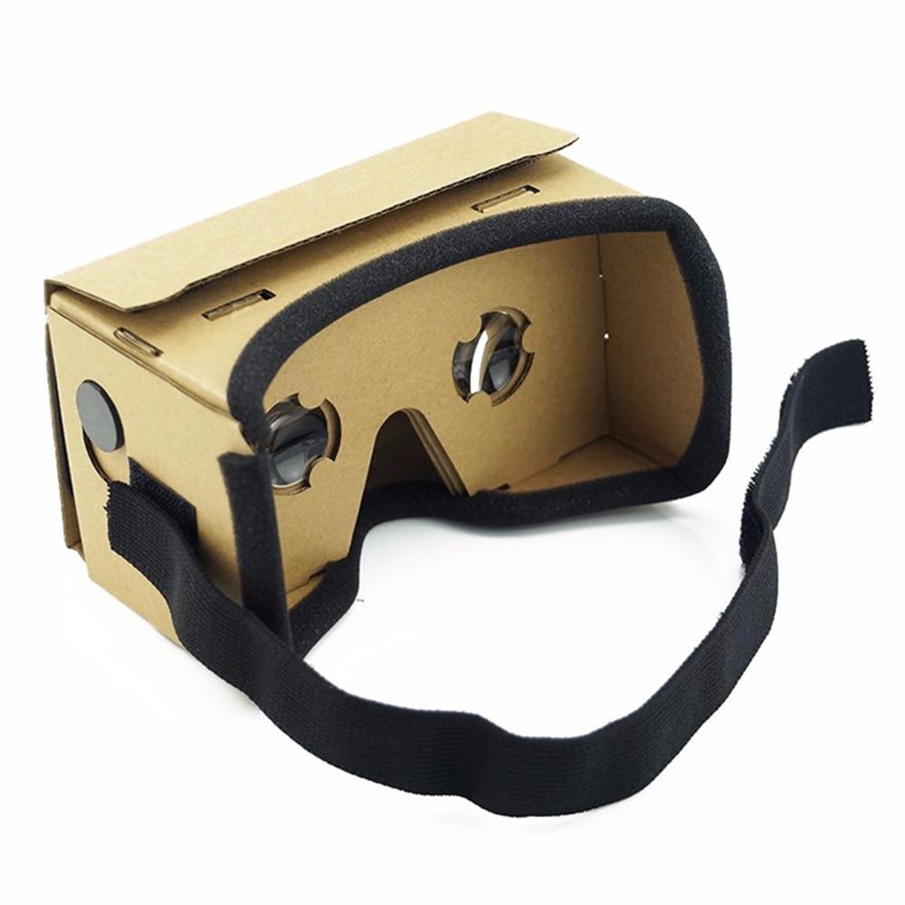 VR BOX 2.0 Virtual Reality 3D Glasses DIY Ultra Clear Google Cardboard for iPhone SmartPhone computer gafas xiaomi mi vr headset