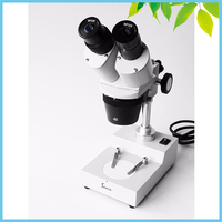 Atacado Varejo 20X 40X Binocular Stereo Microscópio w/Top 12 V/10 W Lâmpada Halógena para Telefone Celular inspeção PCB Reparação