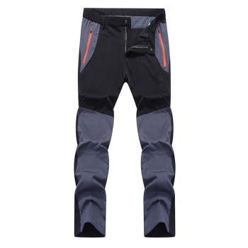 Mountainskin Men's Summer Elastic Quick Dry Pants Outdoor Sport Breathable Pants Hiking Camping Trekking Climbing Trousers VA210 1
