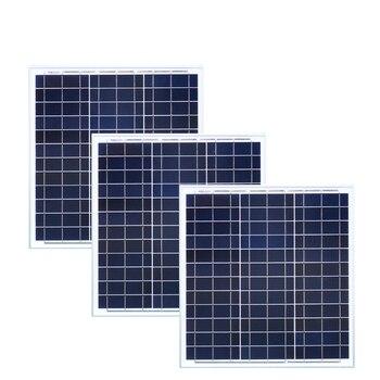 Zonnepaneel 12 volt 40 watt 3 Pcs Solar Panels 120w 36v Solar Battery Charger Caravan Car Camp Motorhome Boat RV Off Grid