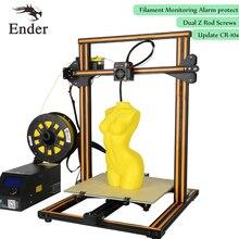 Dual Z Rod Screws,CR-10s 3D Printer DIY KIT,Filament Monitoring Alarm desktop printer 3D Large Size 500*500*500mm (Creality 3D)