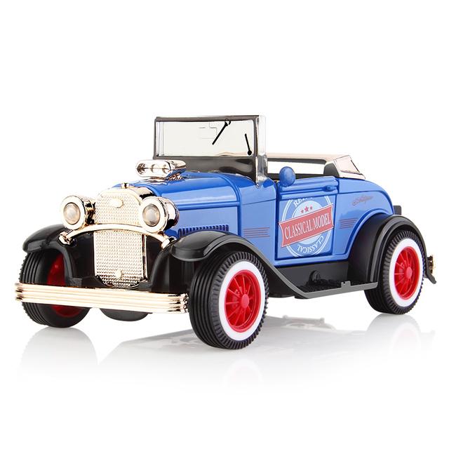 Kids Retro Metal Car Toy