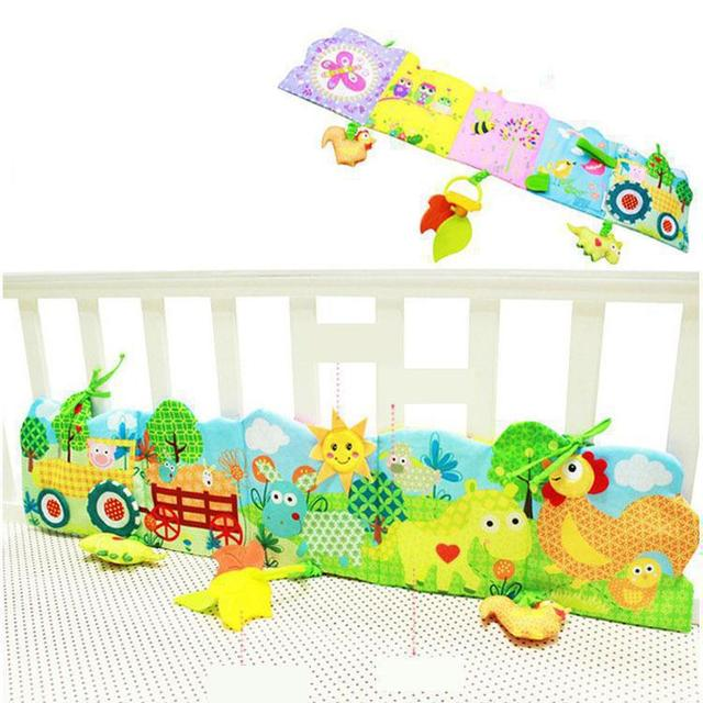 Farm bed wai cloth book Baby educational toys The multifunctional early childhood cognitive around