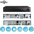 Hiseeu 4ch 960 p 8ch 1080 p 3 em 1 dvr gravador de vídeo para câmera IP P2P AHD camera câmera analógica cctv sistema DVR H.264 VGA HDMI
