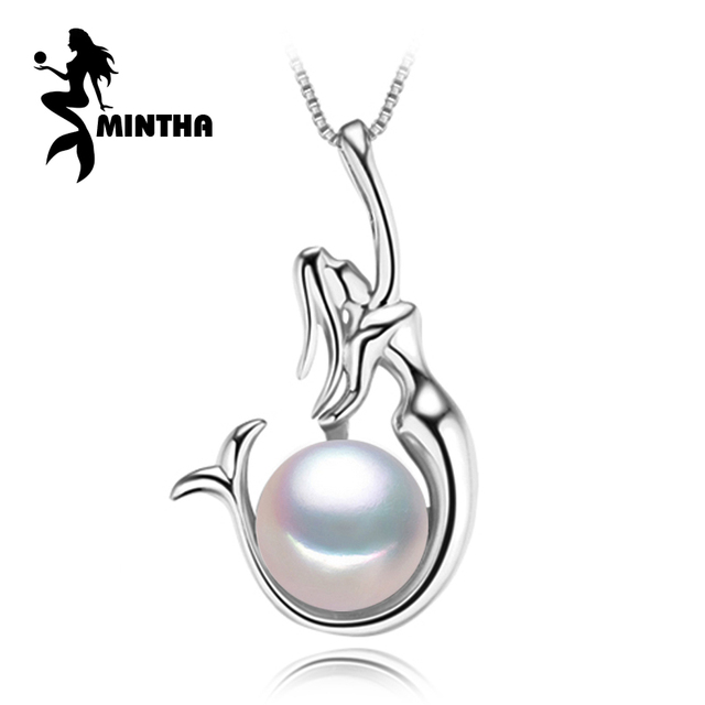 Mintha bohemian angel necklace pearl jewelry necklaces pendants mintha bohemian angel necklace pearl jewelry necklaces pendants pearl mermaid necklace women 925 silver jewelry aloadofball Gallery