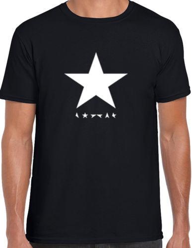 5ef02e77a David Bowie Blackstar T shirt men & women Blackstar Black Star Music  Festival Casual gift tee
