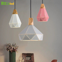 Metal Lampshade Hotel Restaurant Cafe Decoration Ceiling Lamp Home Living Room Kitchen Lighting Fixture