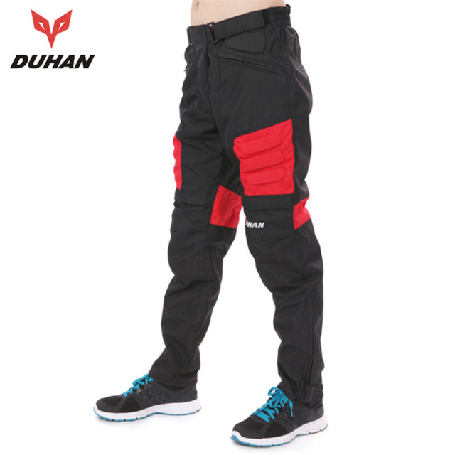 DUHAN Motorcycle Anti Fall Pants Motorcycle Riding Pants Trousers Motorcycle Long Pants Hip Protector DK-02 Motocross Equipment