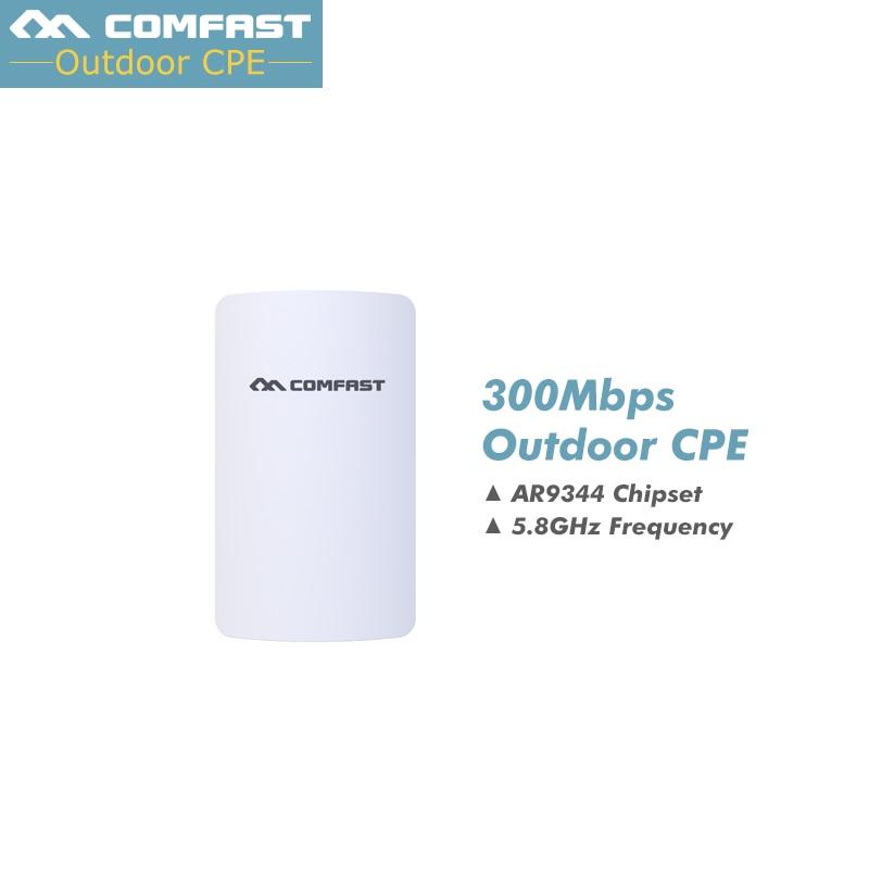 Nouveau, routeur extérieur WIFI sans fil Comfast 5 GHZ 300 Mbps Mini AP amplificateur de signal WIFI pont réseau point d'accès wi-fi
