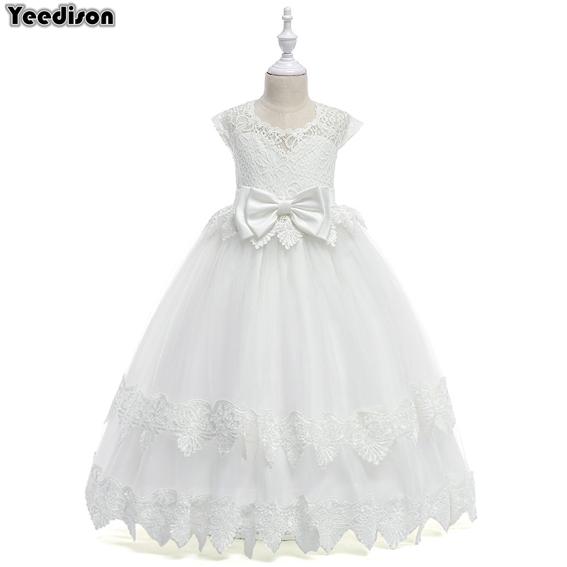737811044 Detail Feedback Questions about 2018 Lace Girls Princess Dress Child ...