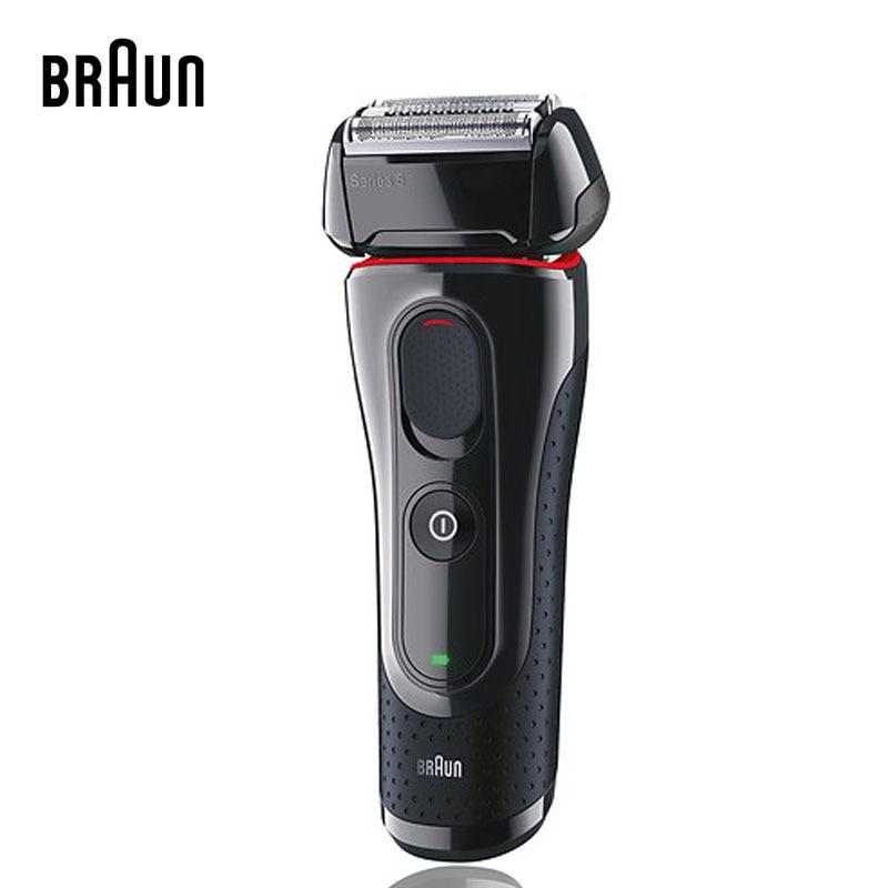 Braun 남자 전기 면도기 시리즈 5 5030s 전기 면도기 호일 면도기 팝업 정밀 트리머 충전식 및 무선 컴포트-에서전기면도기부터 가전 제품 의  그룹 1