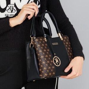 Image 2 - Luxury Handbags Women Bags Designer Women Leather Designer Handbags High Quality Bag For Women 2019 Ladies Hand Bags Sac a Main