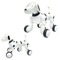 Dog Robot Music Digital Pet Dance Intelligent Robot Dog 2.4G Wireless Remote Control Kids Electronic Toys Talking Toys Kids Gift
