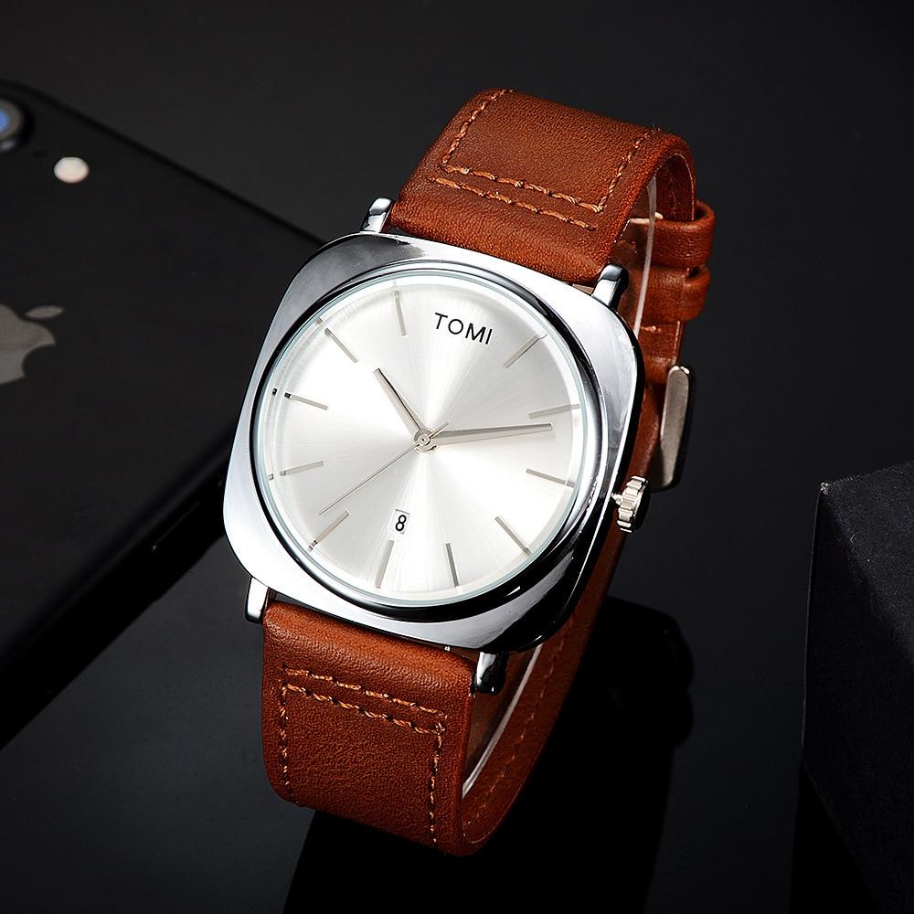Men's fashion classic business watch personality trend air quartz watch