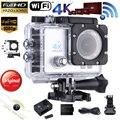 ES ESTOQUE Andoer 4 K Wifi Sports Action Camera 16MP 1080 P Câmera de vídeo Esportes DV 170 Graus Grande Angular Mini-Filmadora Mergulho 30 M