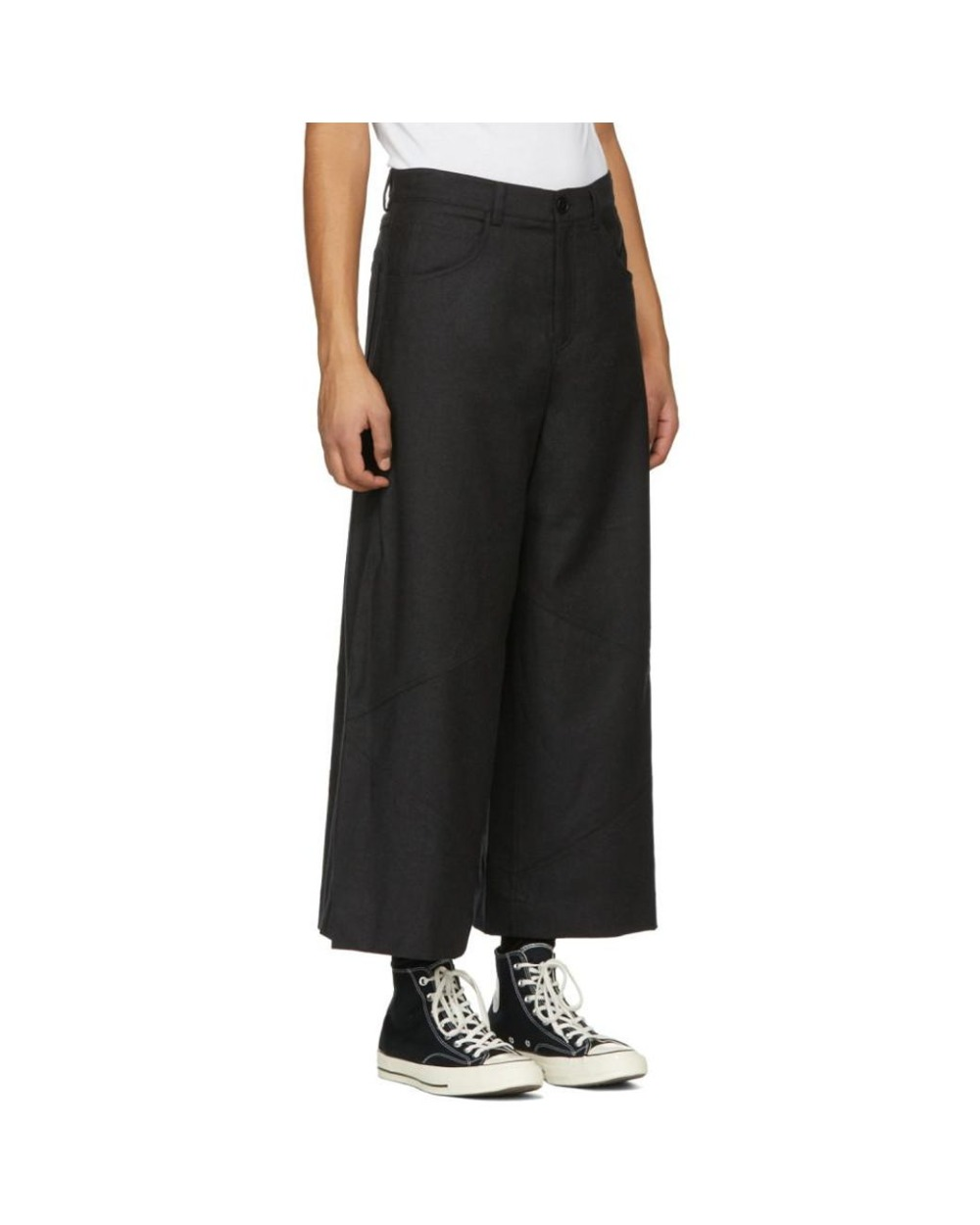 Trousers GD Men's NEW Bell Retro Costumes Hair-Stylist Customized Stage-Singer 27-46