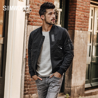 SIMWOOD Brand Jackets Men 2019 Spring New Fashion Coats Jacket Male Casual Outerwear Slim Fit Plus size Free Shipping JK017007