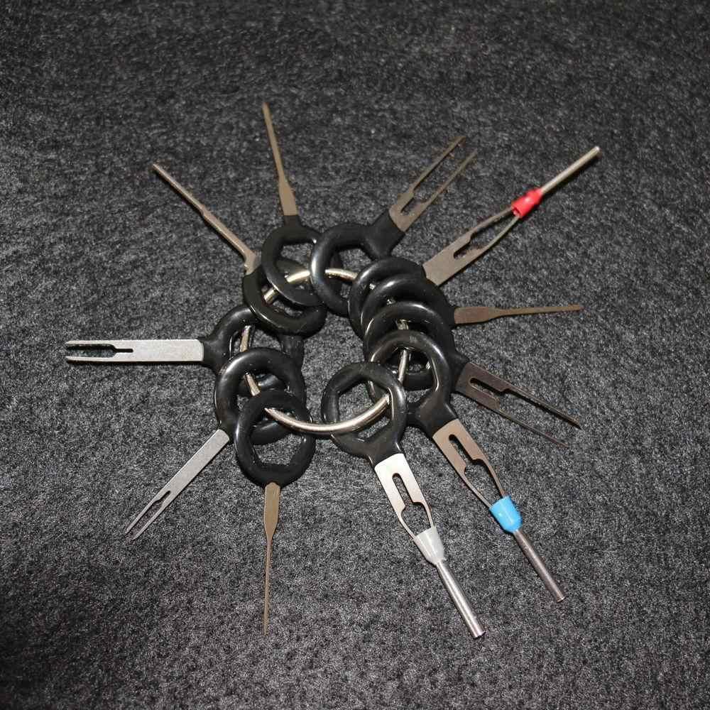 Adeeing 11 шт./компл. Инструменты для удаления терминала автомобиля электропроводка обжимной разъем инструмент удаления акне комплект высокой интенсивности твердости r30