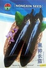Бесплатная Доставка Сад Семена баклажанов Овощи 10 г/Длинные черные красивый помидор главная & сад семена Растений