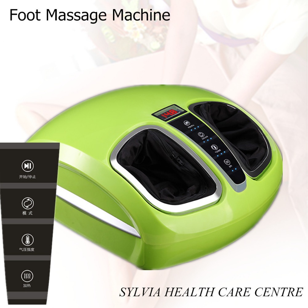 2018 best foot massage machine vibrating blood circulation foot massager electric foot massage device foot pedicure instrument far infrared heat foot massager vibrating massage blood circulation pain relief