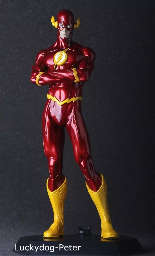Dc Superhero Girls Group Wallpaper The Flash Action Figure 1 6 Scale Painted Figure The Flash