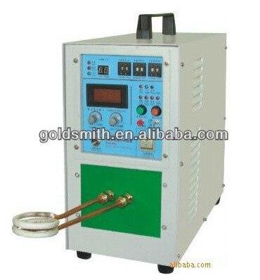 Горячая Распродажа ювелирных изделий машина 15KW сварочный аппарат высокая частота индукционного нагрева оборудования