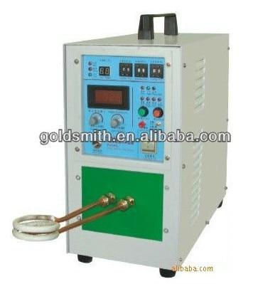 Vente chaude bijoux faisant la machine 15KW machine de soudage haute fréquence équipements de chauffage par induction