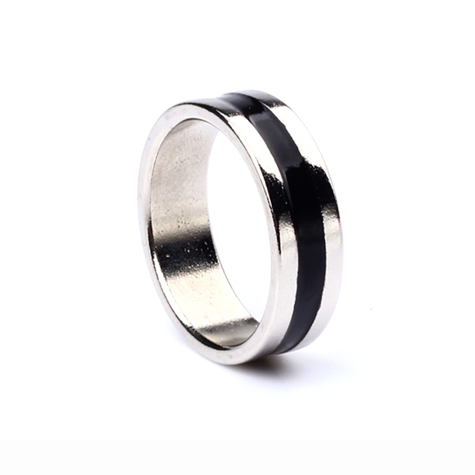 1pc 20mm Super Strong Magnetic Magic PK Ring Round  Silver T CWUS