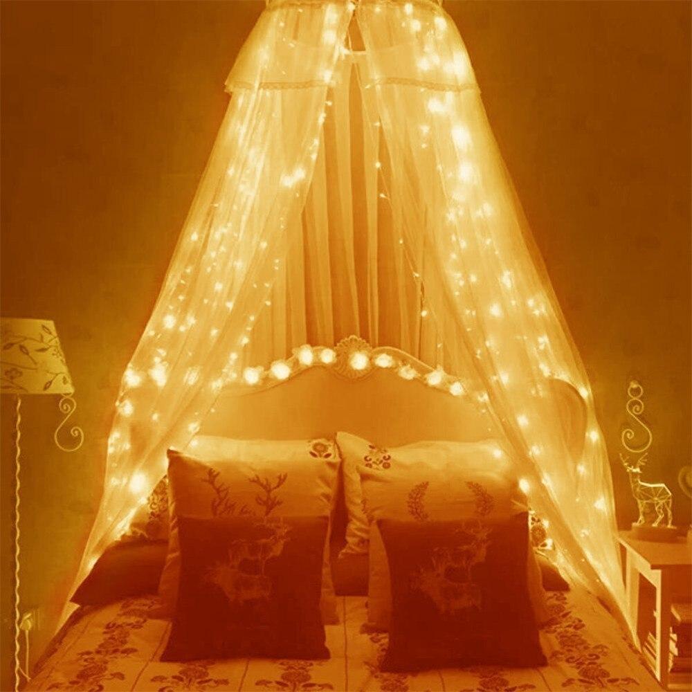 6 3m curtain lights 600led curtain fairy string light - Indoor string light decoration ideas ...