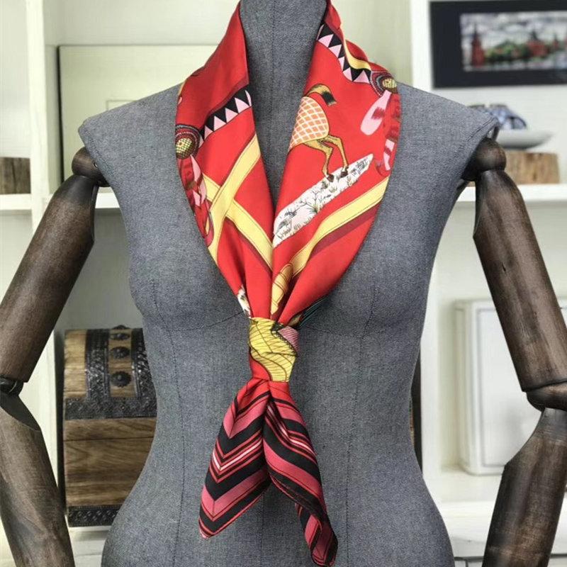feminina cachecol cavalo padrão impressão 90cm x