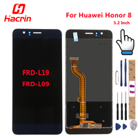 For Huawei Honor 8 LCD Display Touch Screen Tools FHD 100 New Digitizer Assembly Replacement For
