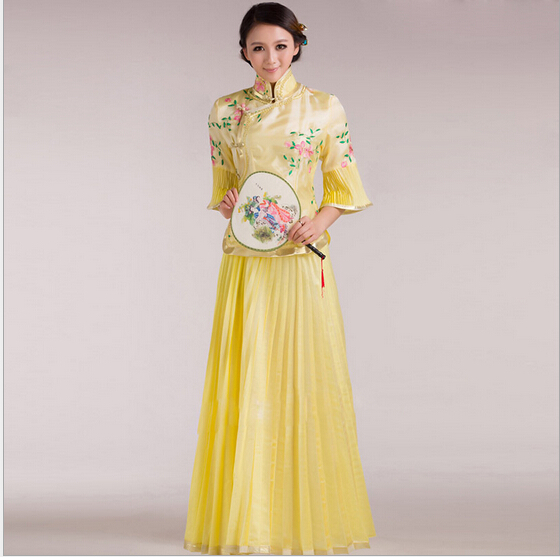 Chinese Ancient Chinese Costume Hanfu Dresses Traditional for Women Girls Beautiful Dance Costumes Han Dynasty Dress Fairy summer dresses styles chinese cheongsams for girls traditional chinese dress for children tang suit baby costumes
