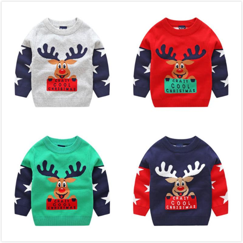 Foute Kersttrui Baby.Buy Boy Christmas Pullover And Get Free Shipping On Aliexpress Com